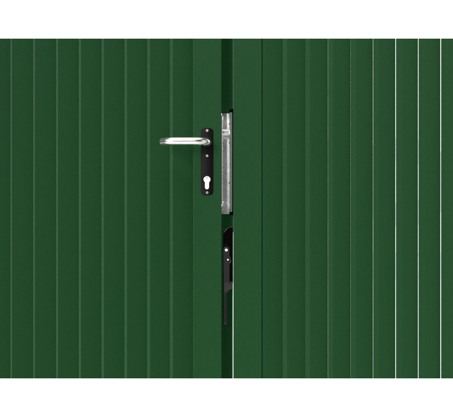 Doppeltes design Drehtor Modius Modeno V60