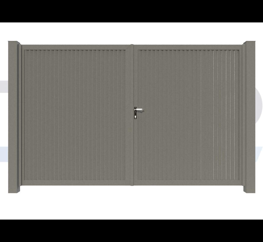 Double design Swing gate Modius Modeno V60