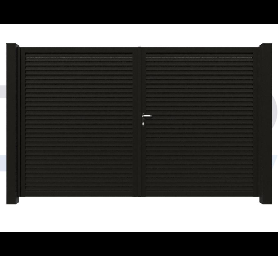 Dubbele design draaipoort Modius Modeno H60