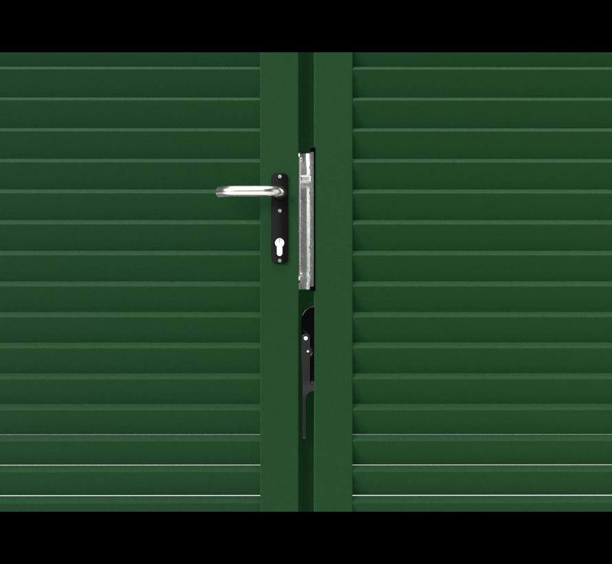 Portail pivotant design Modius Modeno H60 double