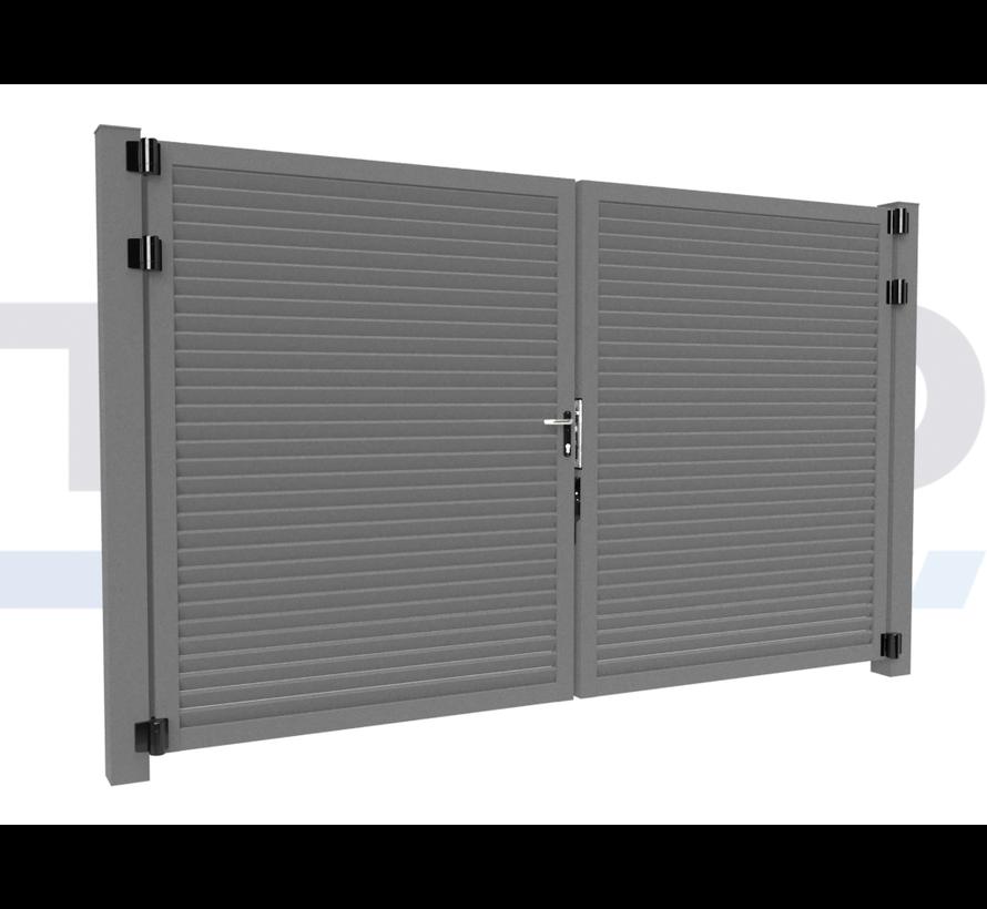 Double design Swing gate Modius Modeno H60