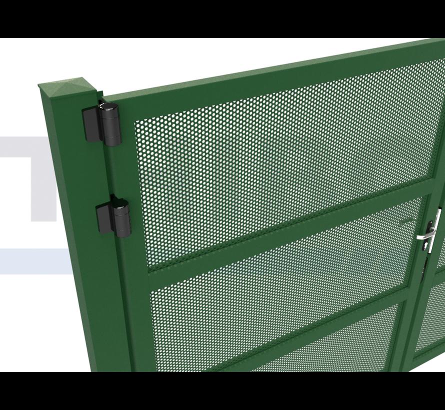 Double design Swing gate Modius Polkadot R10
