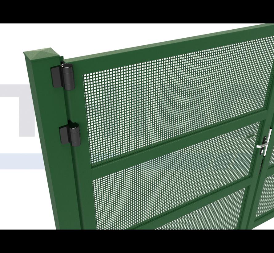 Double design Swing gate Modius Carré K10