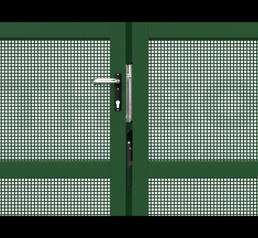 Dubbele design draaipoort Modius Carré K10