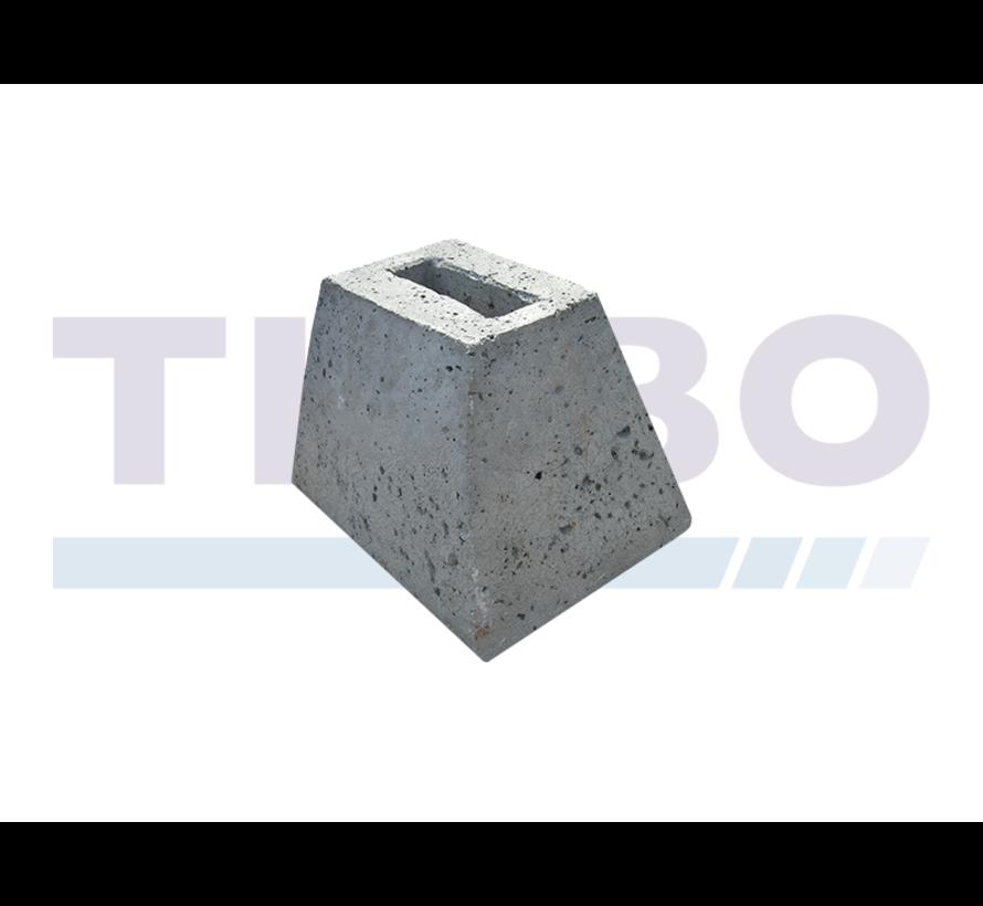 Tuinpoort grondstop, beton