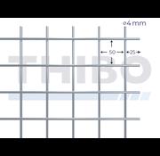 Stahlmat 2000x1000 mm - 50x50x4,0 mm
