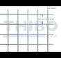 Stahlmat 2000x1000 mm mit Masche 50x50 mm, gepunktgeschweißt aus blanker Draht 4,0 mm