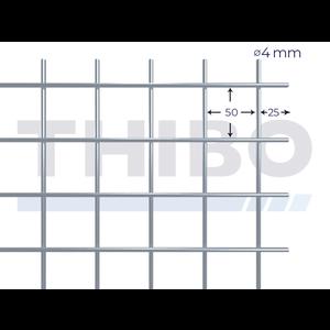Mesh panel 3000x1500 mm - 50x50x4,0 mm