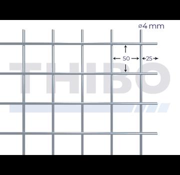 Thibo Stahlmat 2000x1000 mm - 50x50x4,0 mm