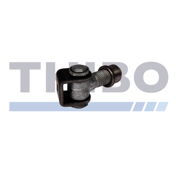 Thibo Vandal-proof one way 90° hinge