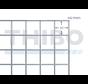 Gaaspaneel 2,1 x 2,1 meter met maas 50 x 50 mm, uit galfandraad 4,0 mm (95% zink, 5% aluminium)
