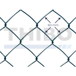 Chain link wire 60 x 60