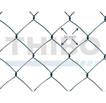 Chain link wire 50 x 50 light