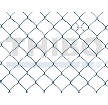 Thibo Chain link wire mesh 20 x 20 standaard