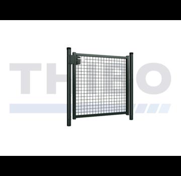 Hitmetal Einfaches Stahlgitter Gartentor