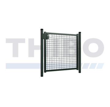 Thibo Metalen tuinpoort met gaasvulling - Enkel
