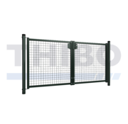 Thibo Single wire mesh double garden gate