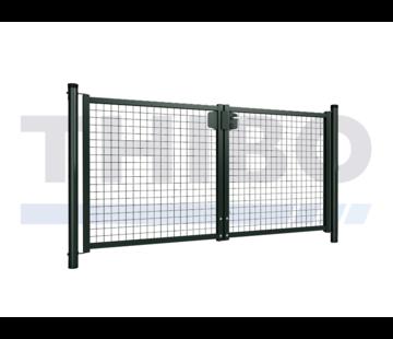 Hitmetal Single wire mesh double garden gate
