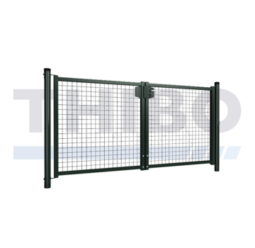 Thibo Single wire mesh double garden gate