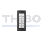 Strong, frost-free and watertight keypad
