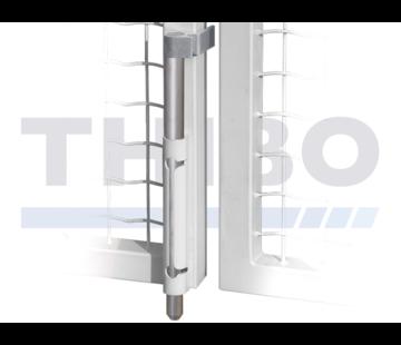 Locinox Opbouwgrondgrendel met aluminium as