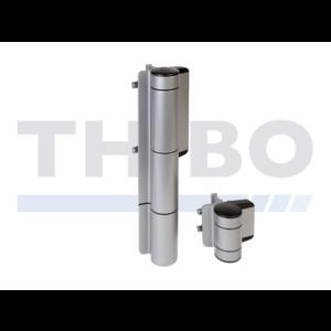 Locinox Charnière hydrauliqueà fermeture automatique réglablepour grandes portes - Mammoth