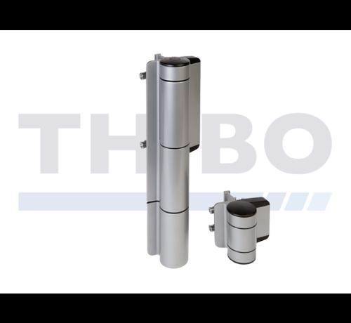 Locinox Stylischer hydraulischer Torschlie?er für schwere Tore - Mammoth