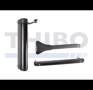 Locinox Ferme-portail compact hydraulique réglablepour tout type de portail - Lion