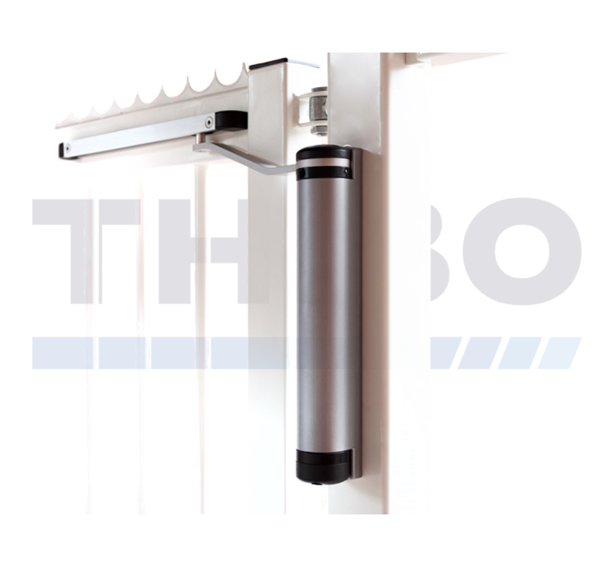 Compact and polyvalent gate closer, fits every gate situation - Lion