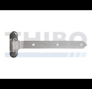Locinox 180° 3-way adjustment hinge for wooden gates