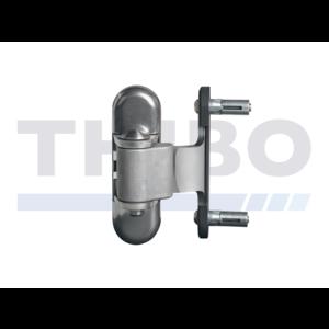 Edelstahl-Torband 3-Fach verstellbar