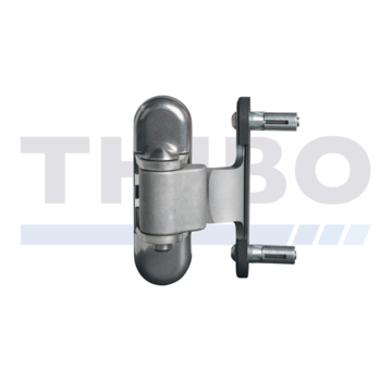 Locinox 3-way adjustment hinge