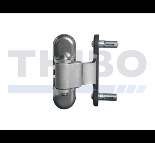 Locinox Edelstahl-Torband 3-Fach verstellbar