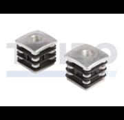 Locinox Stopfen mit Aluminium-Verstärkung für Torbänder