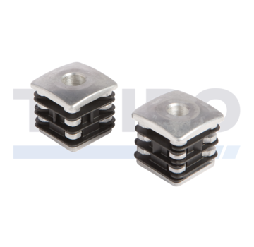 Locinox Aluminium verstevigde scharnierdop