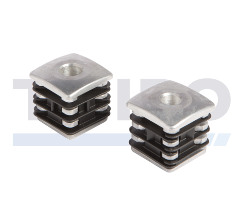 Locinox Aluminium verstevigde scharnierdop voor doorboorscharnier