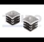 Stopfen mit Aluminium-Verstärkung für Torbänder