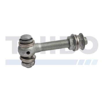 Locinox Hot-dip galvanized eyebolt set