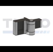 Thibo Compact 2-dimensionaal verstelbaar 180° opbouwscharnier - Puma