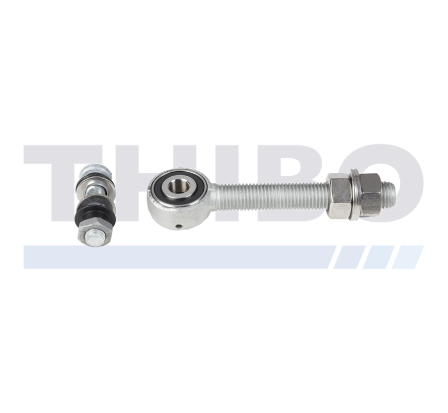 Hot-dip galvanized bearing eyebolt for 3D and 4D hinges