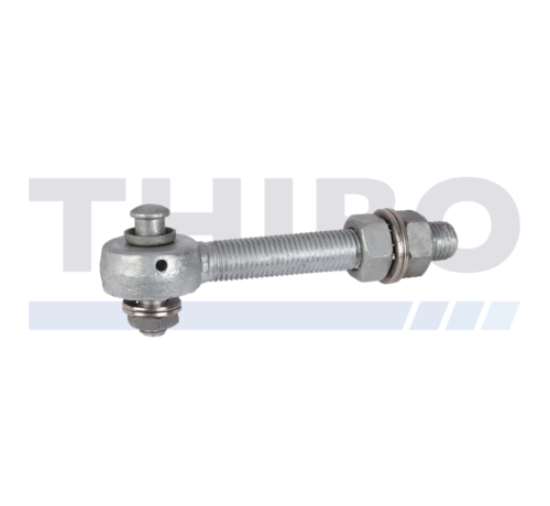 Locinox Hot-dip galvanized bearing eyebolt for 3D and 4D hinges