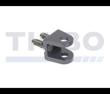 Locinox Aufschraubbare U-Stoßplatte mit Quick-Fix-Befestigungssystem