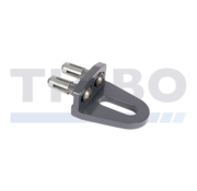 Bolt-on GRIP with Quick-Fix or internal threaded bushing fastening