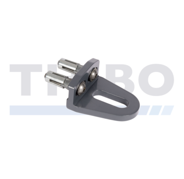 Locinox Bolt-on GRIP with Quick-Fix or internal threaded bushing fastening