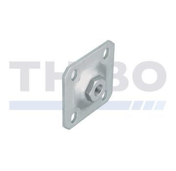 Thibo Wallplate hot-dip galvanized