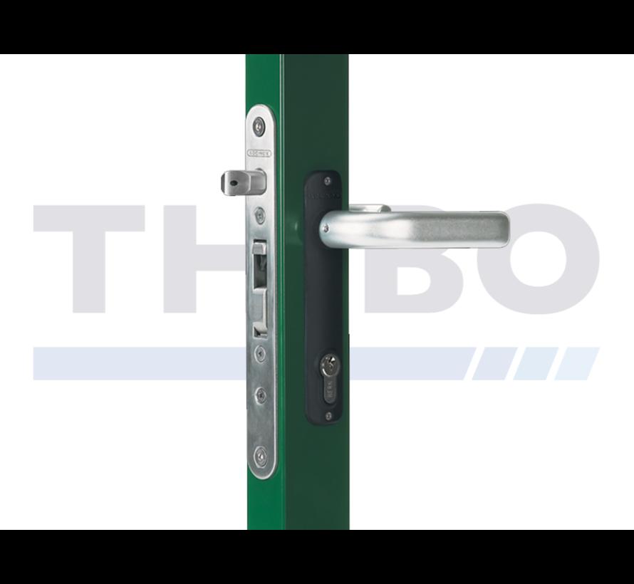 Insert lock with 35 mm backset