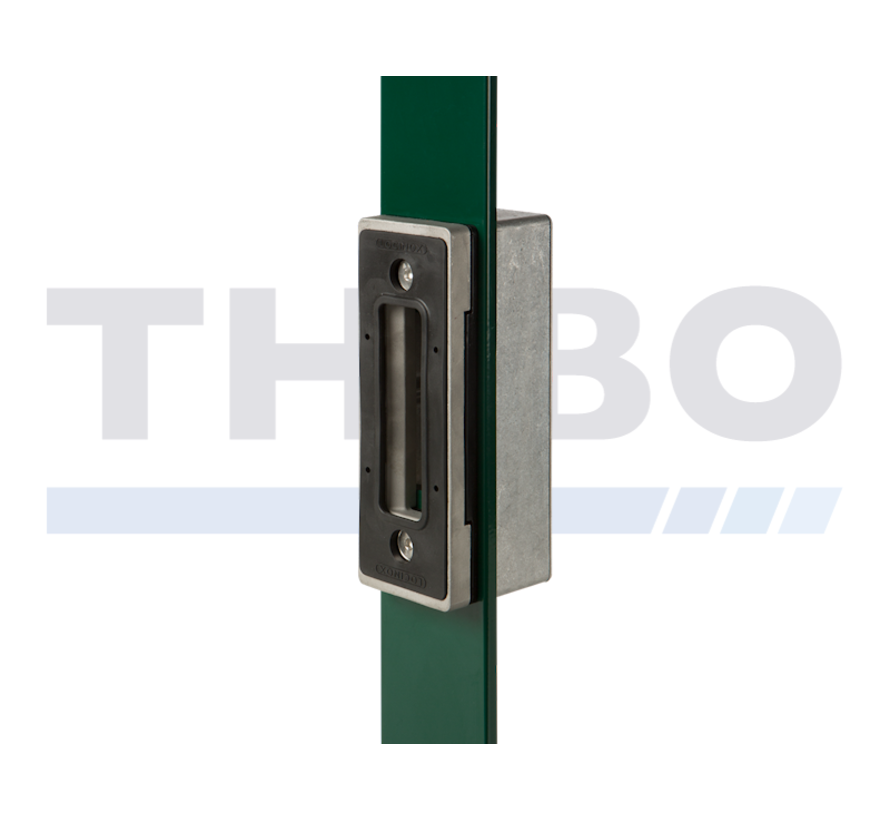 Aluminium adapter case for flat profiles