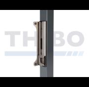 Thibo Roestvrijstalen veiligheidsslotvanger in opbouw voor Fortylock, Fiftylock en Sixtylock