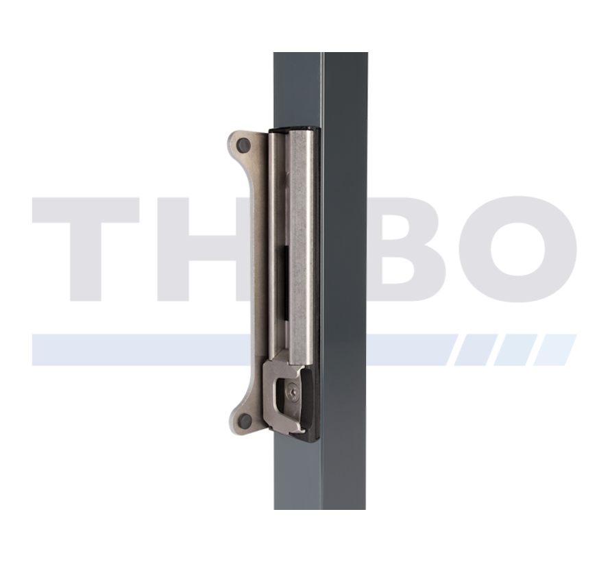 Surface mounted stainless steel keep strike for Fortylock, Fiftylock and Sixtylock