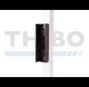 Thibo Polyamide tuinpoortslotvanger voor vierkante profielen